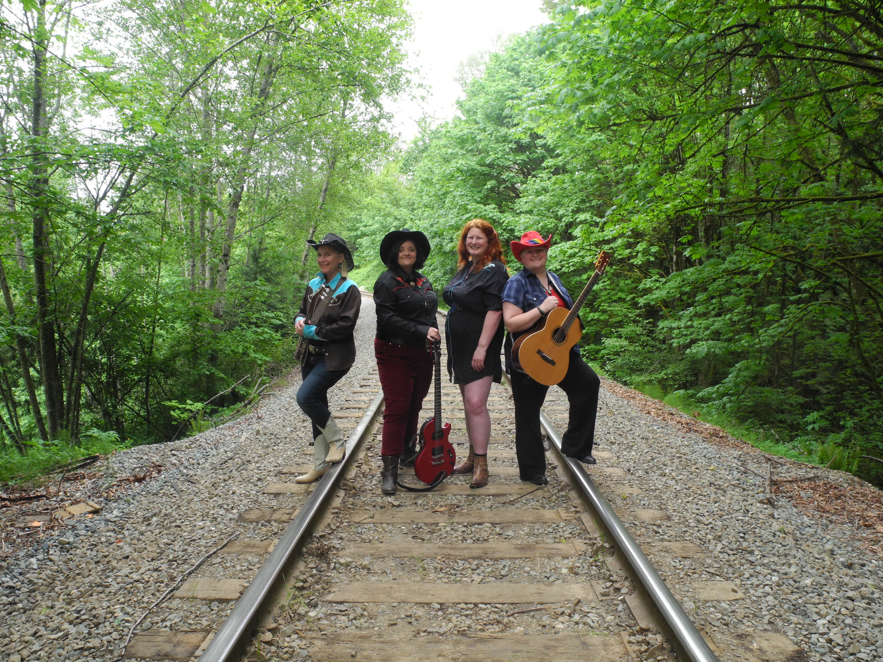 Bushy Park – lesbian country band in Vancouver BC